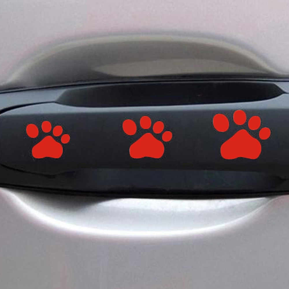 Hond Poot Puppy Decal Auto Sticker Patroon Truck Side Motorfiets Decoratie