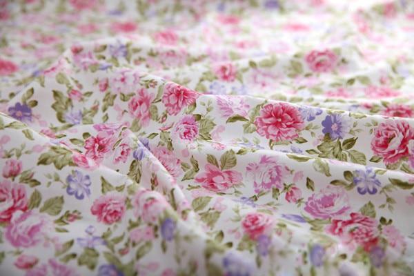 """1 метр, розовые розы, хлопок, ткань для постельных принадлежностей, швейная стеганая ткань, пэчворк, 160 см/6"""" в ширину"""