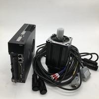 750W AC Servo Motor Drive Kits NEMA32 80mm 220V 2.4Nm 3000r/min 0.75KW Modbus RS485 Replace Yaskawa Panasonic Fuji Delta for CNC