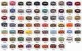 Novo chegou! 68 cores disponíveis-Alta qualidade 18 MM Nylon Assista banda cintas pulseira de relógio à prova d' água 10 Pçs/lote