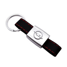 Key Pendant Car Styling for Opel Astra h Insignia Meriva Corsa d Astra g j Vectra Mokka Zafira Lether Keychain Auto Key Ring car seat back storage bag hanging multifunction anti dirty pad for opel antara astra g h j corsa d insignia meriva mokka ampera
