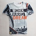 2016 Men's Fashion 3d Funny Printed T-shirts Fashion Casual Hip Hop Style Top Clothing 02