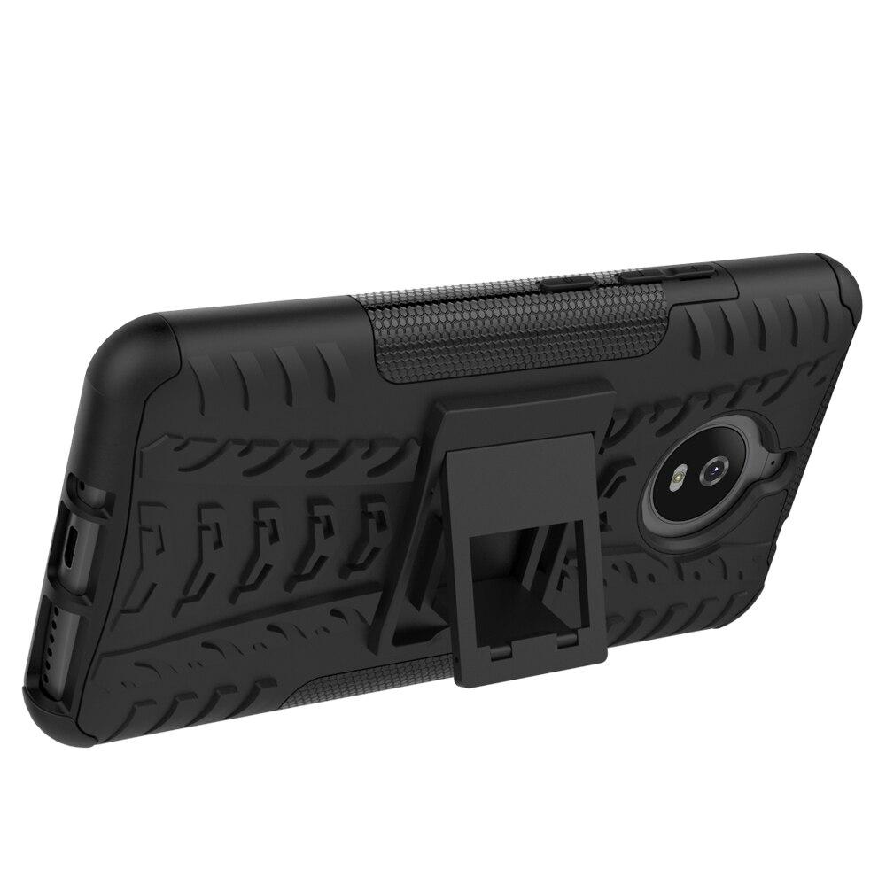 Чехол для Motorola MOTO E4 E5 плюс играть X4 PC + Силиконовые Анти шок влияние прочная Броня чехол для Moto E 4 5 G5 G5S G6 плюс крышка