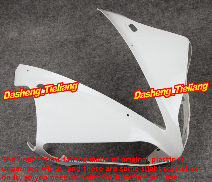 цена на Upper Front Fairing Cowl Nose Fits for Yamaha YZF R1 2004 2005 2006 ABS Plastic