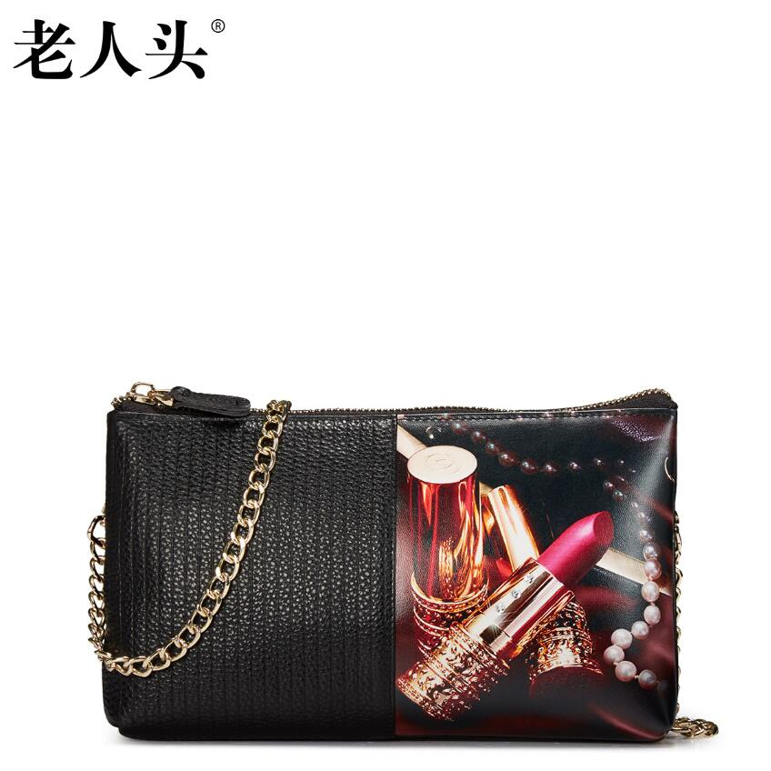 ФОТО Famous brand top quality dermis women bag  New Simple Shoulder Messenger Bag Fashion chain bag Small square package