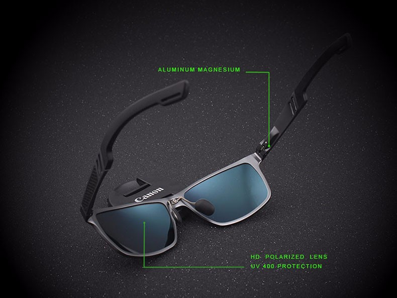 2016 High Quality Men Polarized sunglasses Male Driving Sun Glasses Fashion Polaroid Lens Sunglass Gafas oculos de sol masculino 3