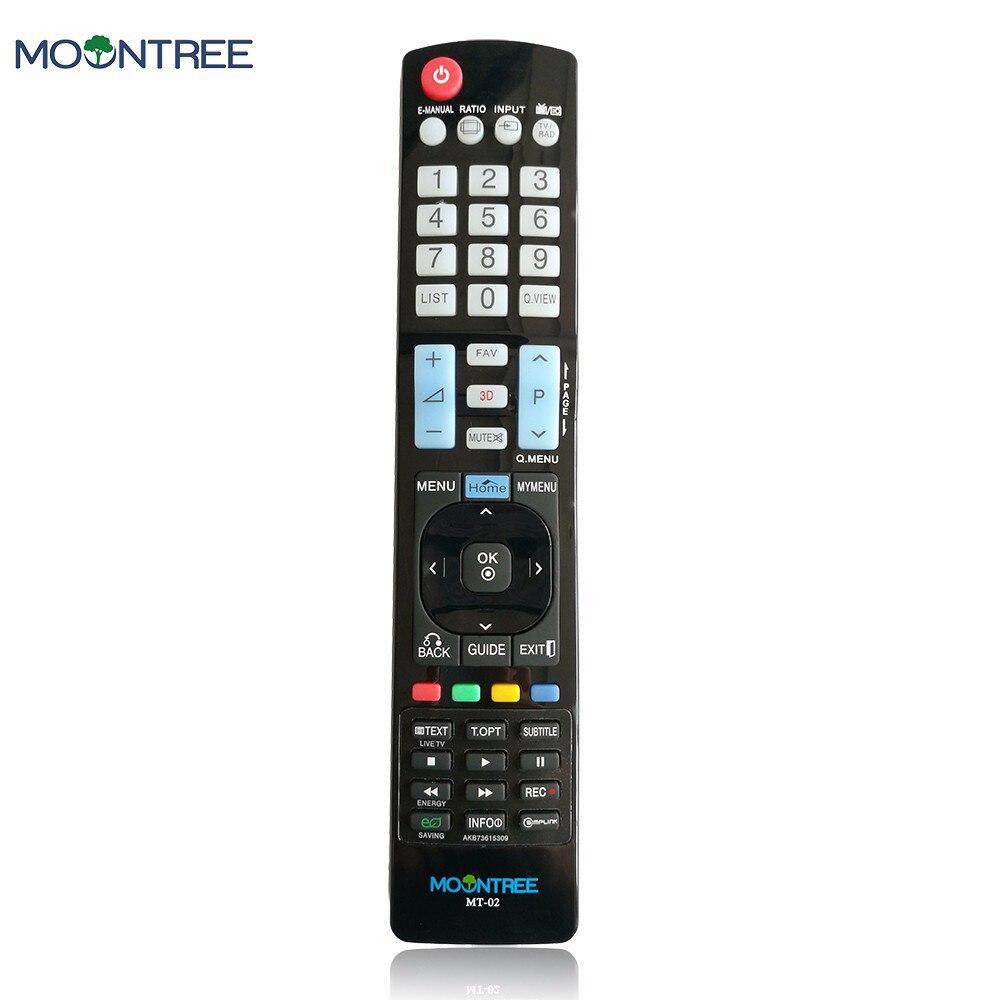 AKB73615309 Substituição para LG tv controle remoto universal 433mhz uso do controle remoto para LG MOONTREE AKB73615306 LEVOU TV LCD