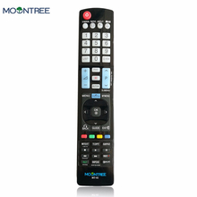 MOONTREE universal remote control use tv 433 mhz for fit LG  AKB73615309 LCD TV DVD CBL VCR