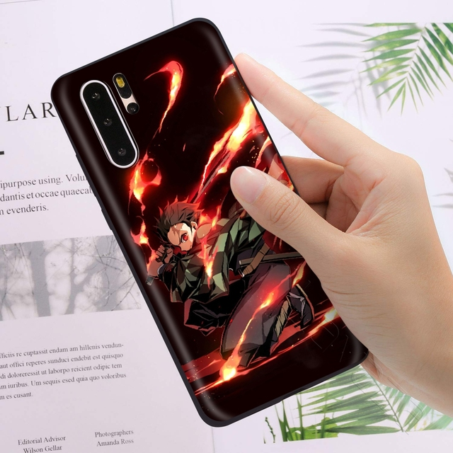 Demon Slayer Kimetsu No Yaiba Case Cover for Huawei Models