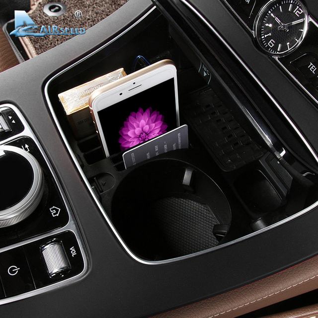 Airspeed Car Console Storage Box Upgrade Interior Car Accessories For  Mercedes Benz E Class W213 E200l