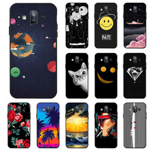 Ojeleye Fashion Black Silicon Case For Samsung Galaxy J7 Duo 2018 Cases Anti-knock Phone Cover For Samsung J7 Duo Covers все цены