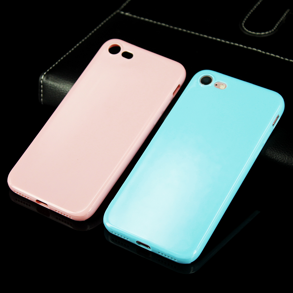 KIP71147_10_Smooth Pure Color Series Soft TPU Case for iPhone 7