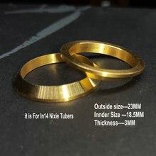 1 шт. DIY Медь in14 Nixie трубки часы украшение кольцо