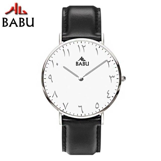 6df986fced5 Urdu Numerals 2018 Unique Design Watches Leather Bracelets Mens Quartz Wrist  Watch Japan Movemen Watch Men 30m Water Resistant