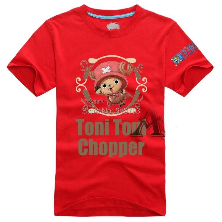 2015 One Piece Tony Tony Chopper Summer Shirt Cosplay