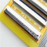 Trasporto libero 40*20mm 0.5mm pitch pin a pin convertitore elettronico PCB e Clamshell tipo ffc fpc bordo