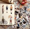 280 stücke Nette kawaii self-made Hübsche mädchen scrapbooking Aufkleber/Dekorative Aufkleber/notebook tagebuch welt DIY Handwerk foto Alben