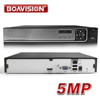 8CH 16CH 5M CCTV NVR H.265/ H.264 Motion Detect CCTV Network Video Recorder FTP ONVIF For IP Camera Security System