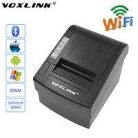 VOXLINK 80 мм Wifi POS термопринтер для телефонов Android планшет для iPone iPad IOS 300 мм/сек. Авто резак Wifi Printer_DHL