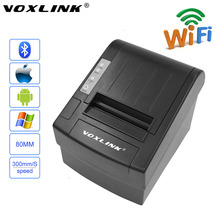VOXLINK 80mm Wifi POS Thermal Receipt Printer for Android phones Tablet for iPone iPad IOS 300mm/s Auto-cutter Wifi Printer_DHL