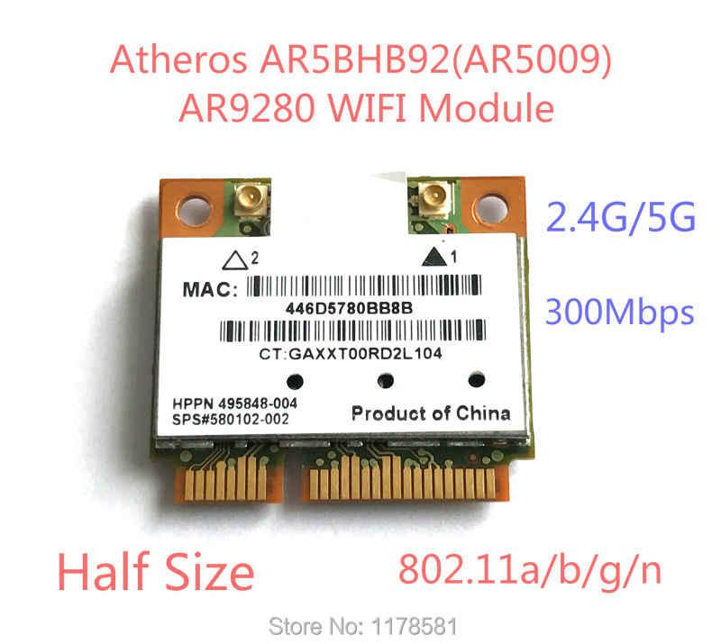 Atheros AR5BXB112 AR9380 Dual Band 450Mbps Wifi Mini PCI E