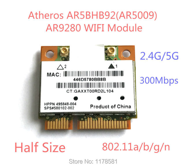 ATHEROS AR5009 WLAN DRIVERS FOR WINDOWS DOWNLOAD