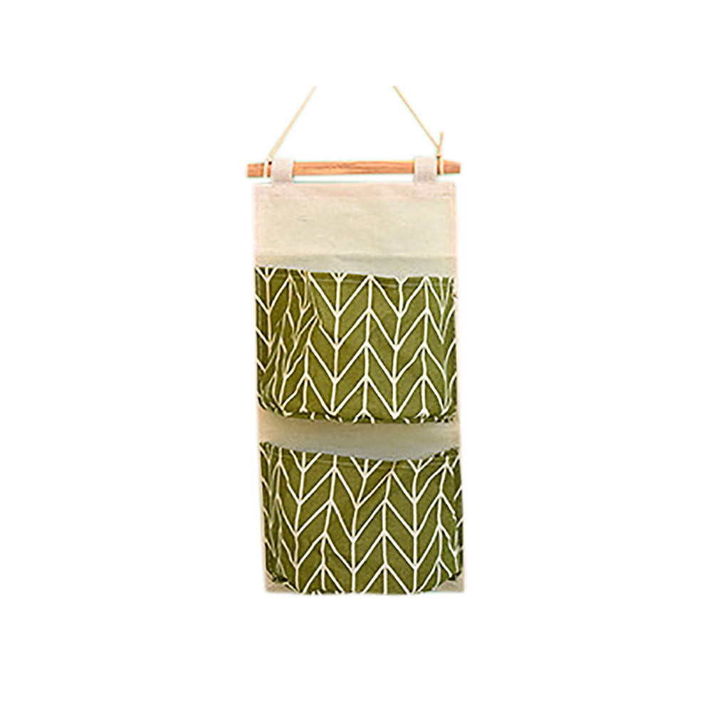 Wall Hanging Storage Bag Organizer Container Pocket Pouch Household Supplies