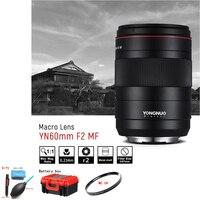 YONGNUO YN60mm F2 MF 0.234m Macro Lens Manual Focus Large Aperture for Canon EOS 70D 5D2 5D3 600D DSLR Camera For Canon Lens