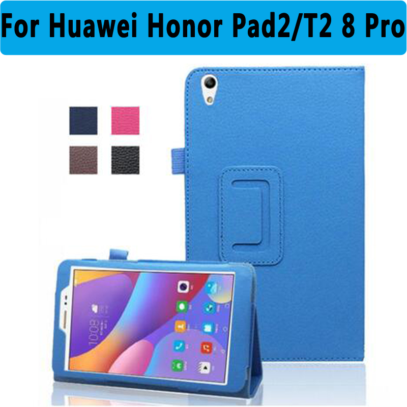 100% High Qulity PU Leather Protective Cover For Huawei MediaPad Honor Pad 2 8.0 Smart Case for Huawei MediaPad T2 8 Pro Cover