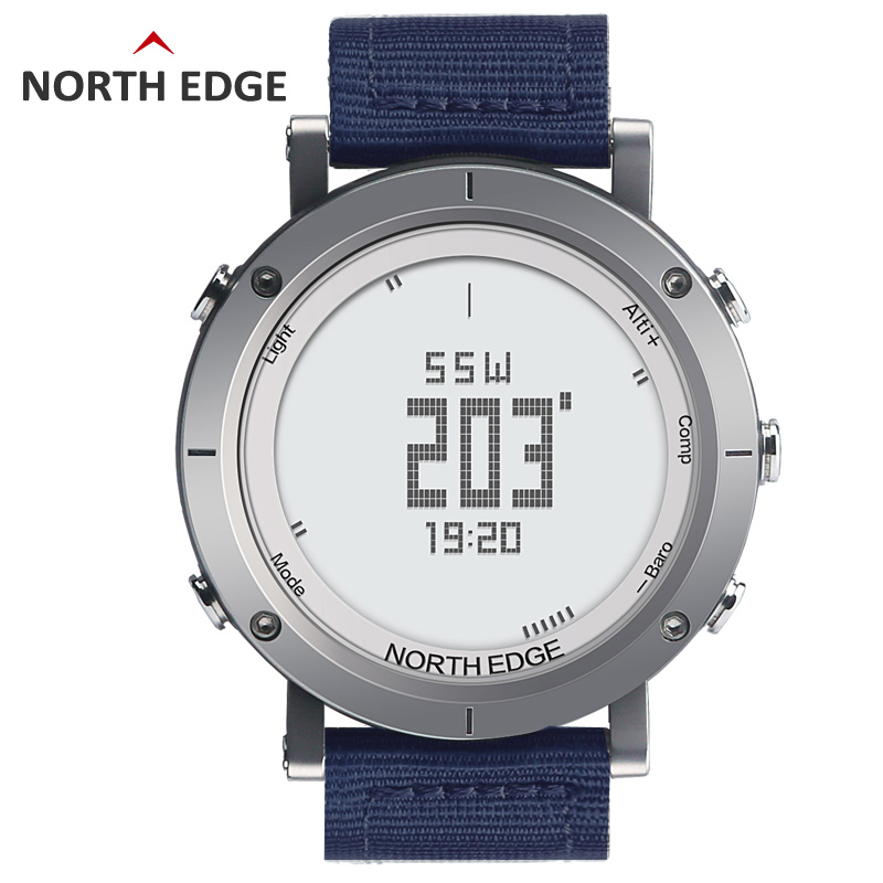 Men Digital Sport Watch Clock Fishing Weather Waterproof 50M Altimeter Barometer Thermometer Compass Heart Rate Hiking HoursMen Digital Sport Watch Clock Fishing Weather Waterproof 50M Altimeter Barometer Thermometer Compass Heart Rate Hiking Hours