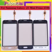 10Pcs/lot For Samsung Galaxy J1 Mini Prime J106 J106H J106F J106M SM-J106F Touch Screen Panel Sensor Digitizer Glass Touchscreen samsung samsung galaxy j1 mini prime 2016 sm j106f ds black