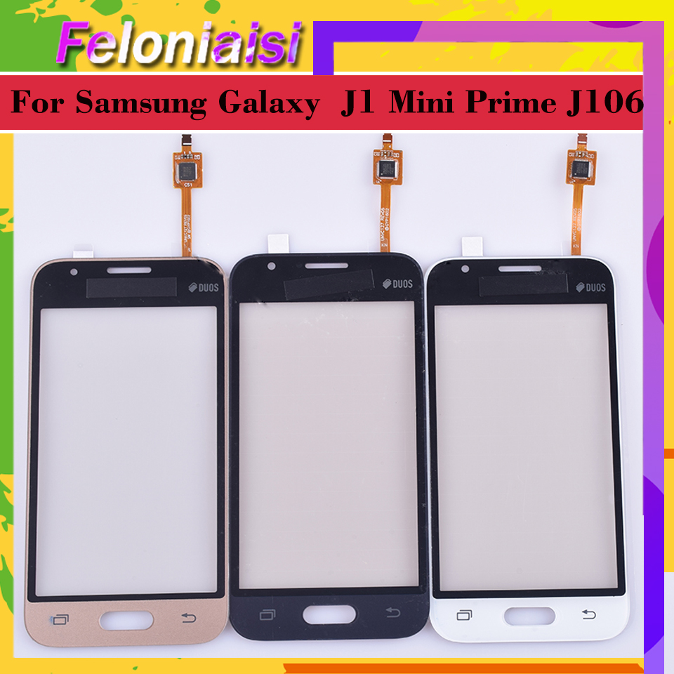 For Samsung Galaxy J1 Mini Prime J106 J106H J106F J106M SM-J106F Touch Screen Panel Sensor Digitizer Glass Touchscreen
