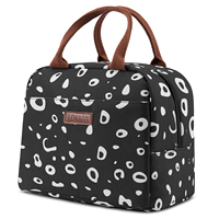 LOKASS Brand Food Fresh Keep Cooler Lunch Bag Waterproof Picnic Bag Thermal Insulated Fashion Lunch Bags Organizer
