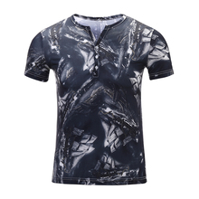 T Shirt Men 2019 New Summer Fashion 3D Printed Short Sleeve T-Shirt High Quality Micro Fiber Male Tshirt Asian Size 5XL