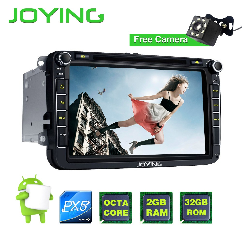 Joying 8 Head Unit GPS Navigation Multimedia Player 2 Din Android Car font b Radio b