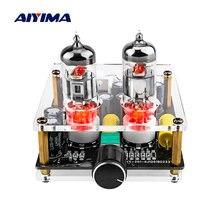 Aiyima amplificador febre 6j3 tubo pré amplificadores mini placa de áudio preamp bile buffer amplificador potência profissional