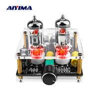 AIYIMA Amplificador Fever 6J3 tubo preamplificador Mini preamplificador Audio tablero de preamplificación Bile Buffer Amplificador de potencia profesional
