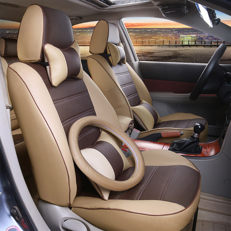 automobile car seat covers pu leather cushion for MITSUBISHI lancer ex V3/5/6 Pajero Sport Outlander V73 V77 Grandis EVO IX dx 7