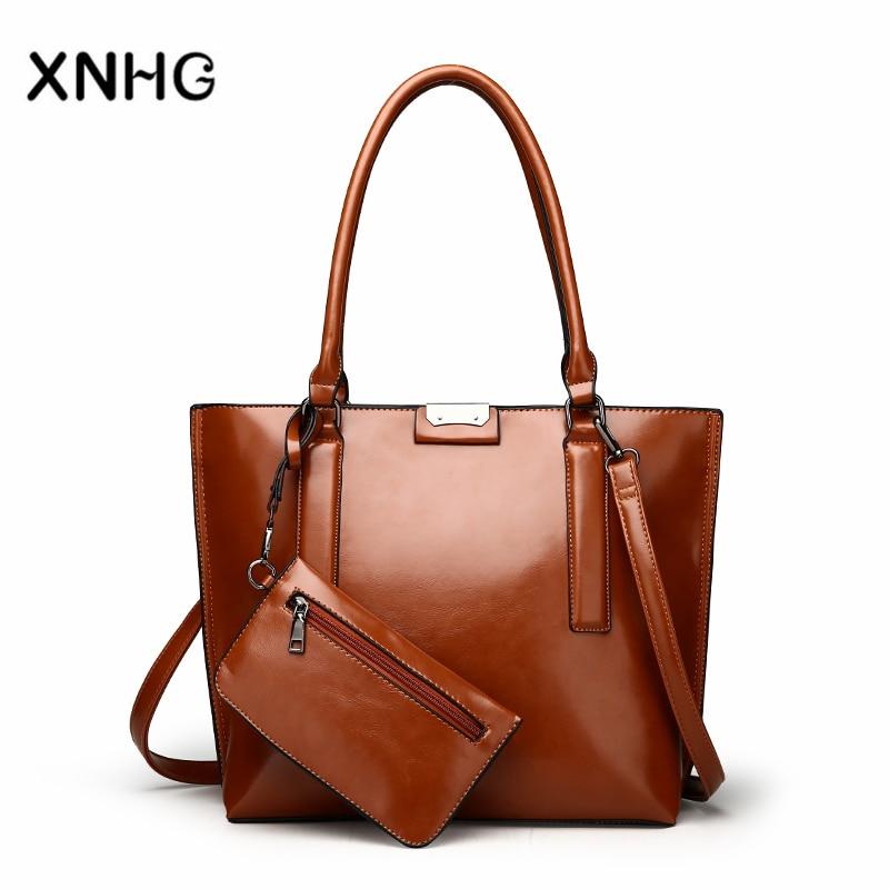 Fashion Composite Bag Large Capacity Women Handbag Shoulder Bags Female Retro Daily Causal Totes Lady Elegant Shopping Handbag