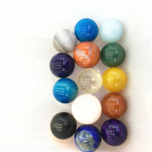 10PCS Natural Rainbow Crystal gemstone very ball meditation reiki healing Diy jewelry making as gift