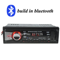 2015 1 DIN 12V Car Stereo FM Radio MP3 Bluetooth Audio Player Built In Bluetooth Phone