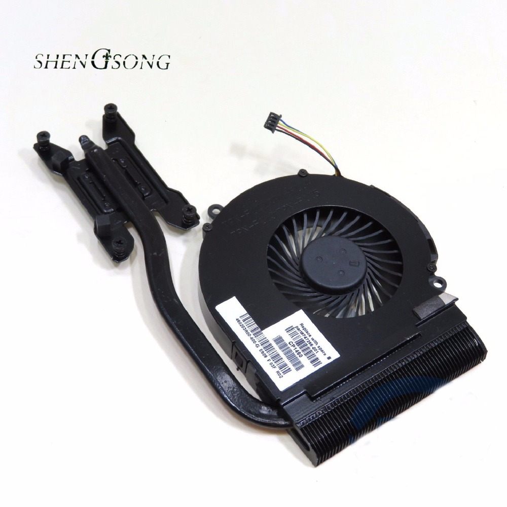 Free sipping NEW for HP 14 14-D 15 15-D CPU heatsink fan cooling fan 747266-001 new forcecon dfs551005m30t fadl cooling fan for hp cq43 cq57 647316 001 cpu cooling fan with heatsink