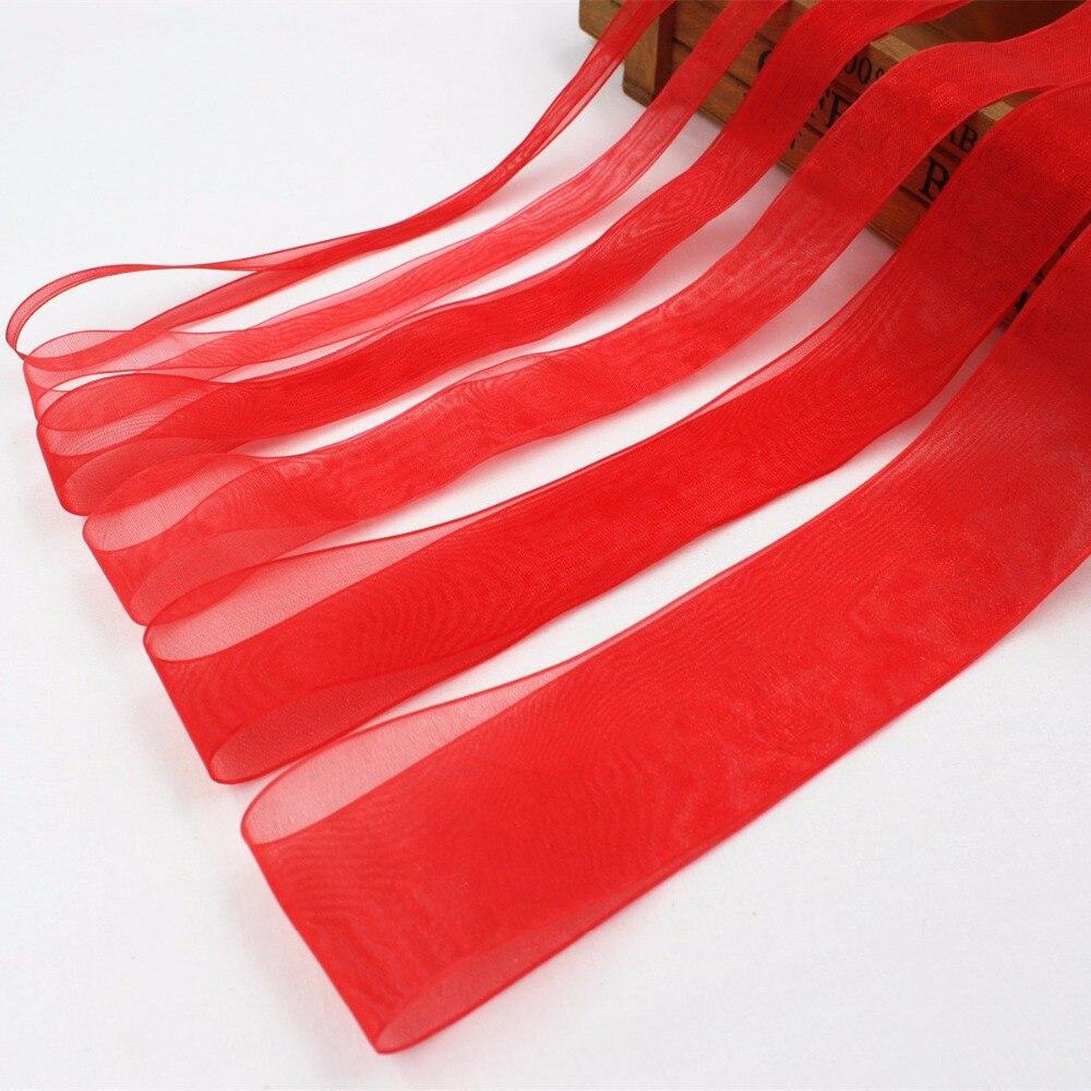 Hs026, (6,10, 15,20, 25,38 мм) 10yard/lot Красный Муслин Ленты печатных Grosgrain Свадебные аксессуары DIY материалы ручной работы подарок
