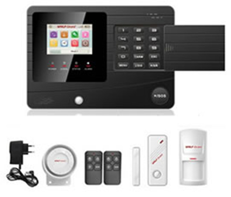 GSM Alarm System with TFT Color Screen SOS Button ...