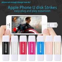 POFAN 16GB Usb3 0 Metal Pen Drive Otg Usb Flash Drive For IPhone 5 5s 6