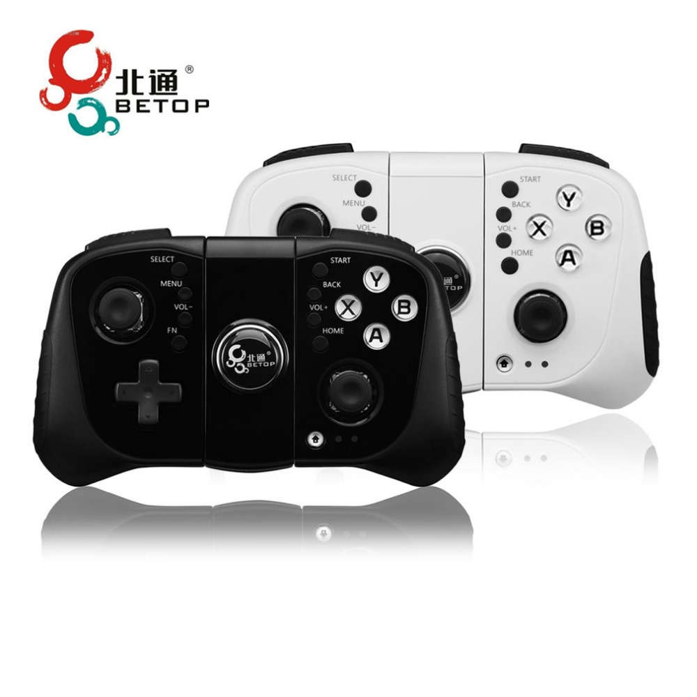 BETOP AX1 USB Bluetooth Double Vibration Wireless Gamepad Joypad Games Controller Handle Games For PC For PS3 For Android wired usb 2 0 black gamepad joystick joypad game controller for pc laptop for raspberry pi 3 for ps3 for sony playstation