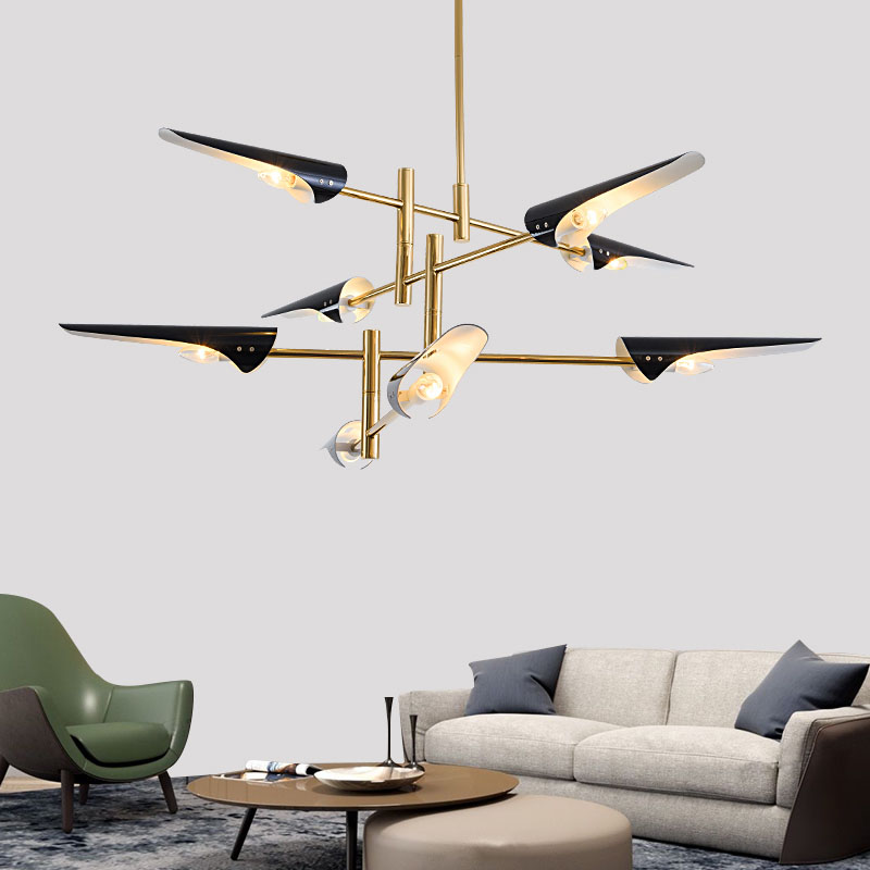 Replica Delightfull Coltrane hanging light lamp LED nordic Europe simple foyer dinning living post modern chandelier light lampReplica Delightfull Coltrane hanging light lamp LED nordic Europe simple foyer dinning living post modern chandelier light lamp