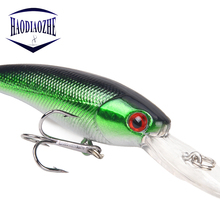 Купить с кэшбэком Minnow Fishing Lures 9cm 7.5g Fake Fish Crankbait Wobblers Artificial Japan Hard Bait Swimbait Pesca Trout Lure Fishing Tackle
