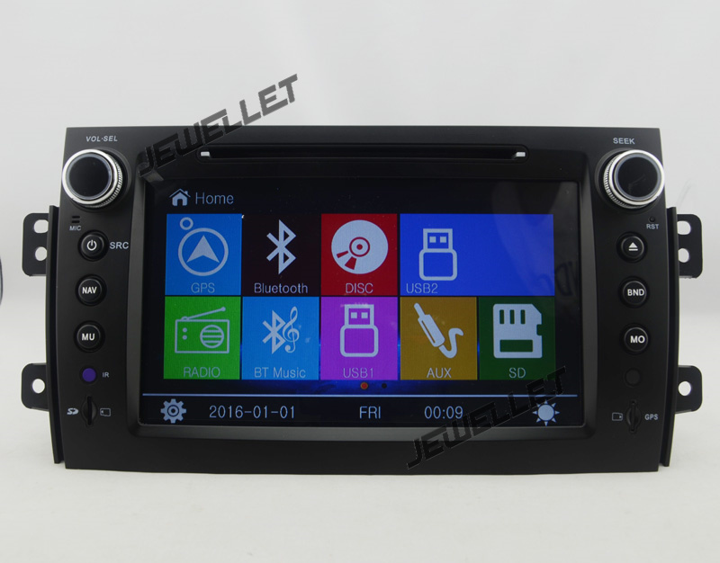 Win8 Menu Car DVD GPS radio Navigation for 2007-2013 Suzuki sx4 Fiat Sedici Baleno with Bluetooth Ipod mirror link 1080P