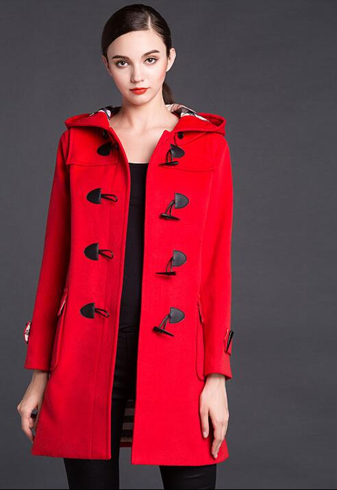 cc24f7f9cd5ea abrigos rojos para mujer